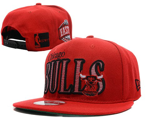 Chicago Bulls NBA Snapback Hat SD11